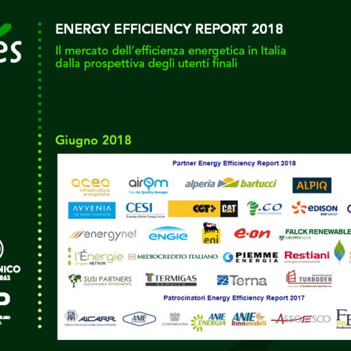 Energy Efficiency Report 2018 - Politecnico di Milano