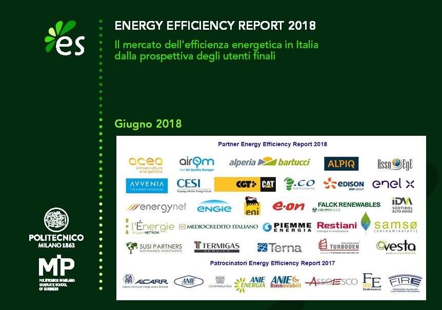 Energy Efficiency Report 2018 - Politecnico di Milano